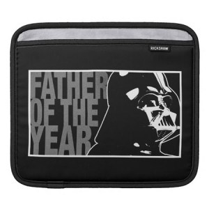 Star Wars Darth Vader Father of the Year Sleeve for iPads - Disney Store