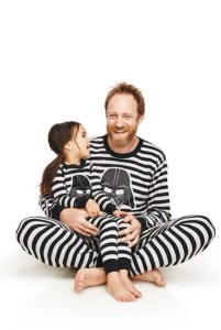 Star Wars Vader Stripe Long Johns - Hana Andersson
