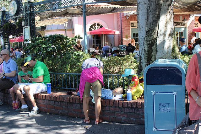 Best Places To Nap At Disneyland New Orleans Square
