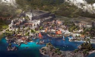 Shanghai Disney Resort Treasure Cove 2