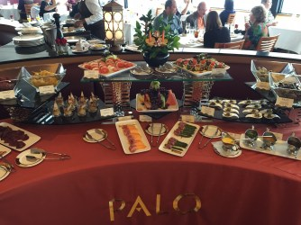 Whats Really On A Disney Cruise Disneyexaminer Palo Brunch Buffet