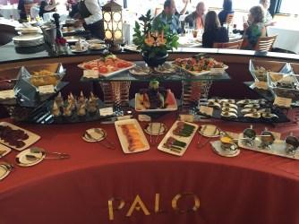 Whats Really On A Disney Cruise Disneyexaminer Palo Brunch Buffet