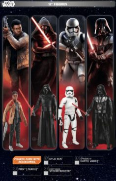 Star Wars Force Friday 12 Inch Figures 1