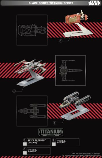 Star Wars Force Friday Black Series Titanium Series 1