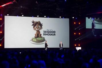 Good Dinosaur Play Set Disney Infinity Interactive Presentation 2015 D23 Expo