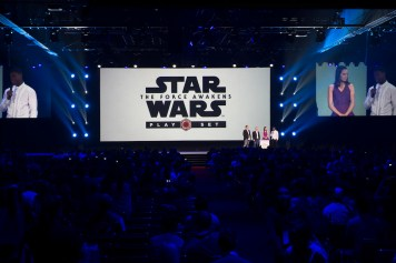 Star Wars Disney Infinity Interactive Presentation 2015 D23 Expo