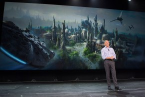 Star Wars Land Announcement Bob Iger Disney Parks And Resorts Presentation 2015 D23 Expo