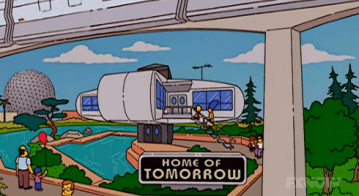 Tomorrowland The Simpsons Disneyland Parody
