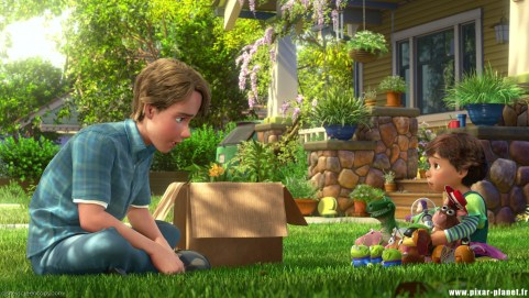 Bonnie and Andy Toy Story 3
