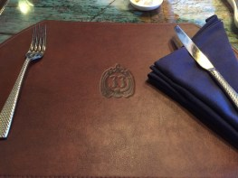New Club 33's Salon Nouveau Place Setting