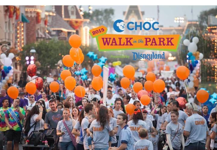 2015 Disneyland CHOC Walk Main Graphic