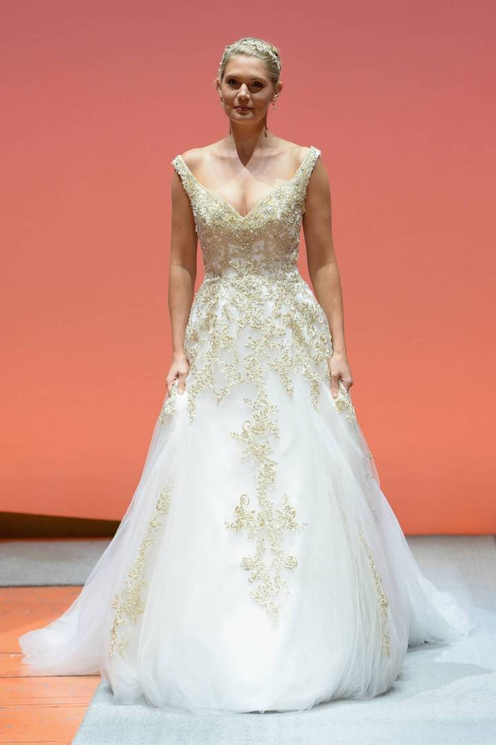 Disney Fairy Tale Wedding Dresses 2015 Alfred Angelo Rapunzel