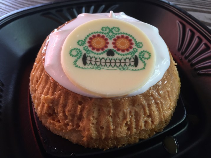 Disneyland Halloween Foods Orange Pumpkin Flan