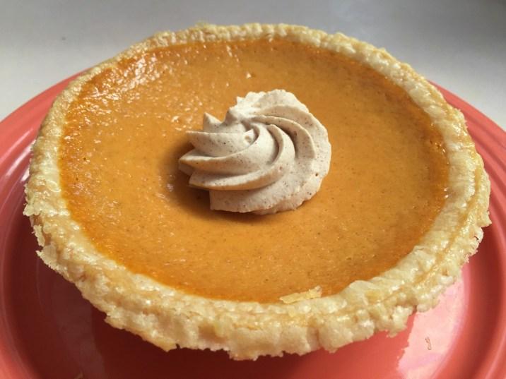 Disneyland Halloween Foods Pumpkin Pie