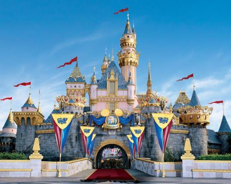 Sleeping Beauty Castle for the 50th Anniversary (c) Disney Parks