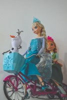DCP Holiday Gift Guide Frozen Doll Bike