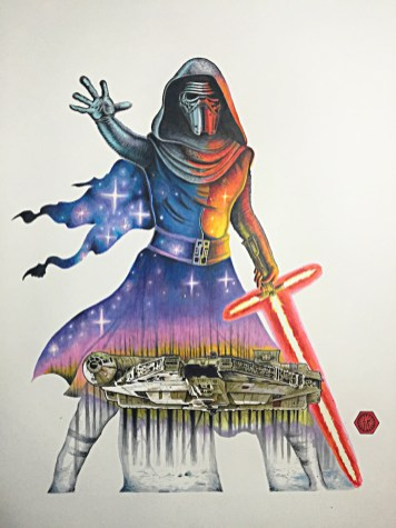 Art Awakens Star Wars Episode 7 Art Exhibit Los Angeles 2