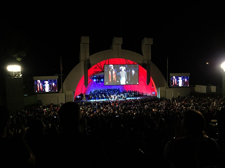 Disney Danny Elfman Nightmare Before Christmas Jack Skellington Hollywood Bowl Concert Encore