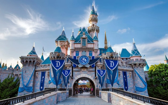 Sleeping Beauty Castle during the Diamond Celebration (Photo via DisneyPhotoblography)