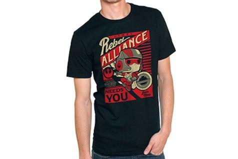 Funko Pop Star Wars T Shirts Poe Dameron