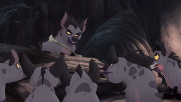 Janja is the leader of the hyenas