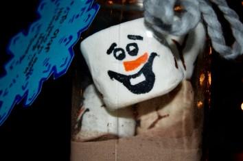 DIY Olaf Face Cocoa