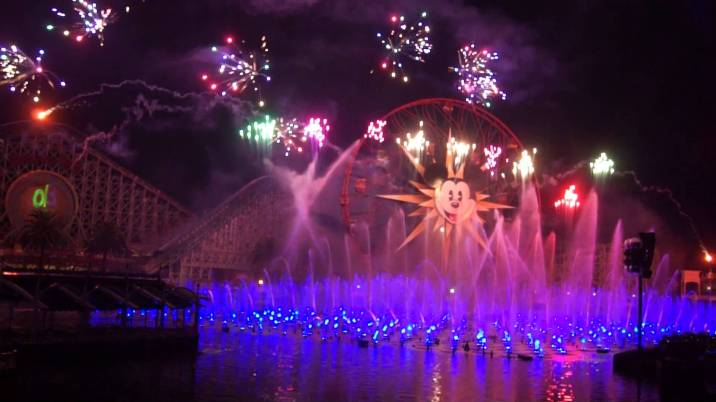 Disney California Adventure Dca New Years Eve World Of Color