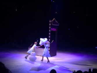 Disney Frozen On Ice Show Snowman