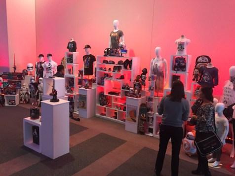 Star Wars The Force Awakens Junket Los Angeles Disney Consumer Products Merchandise