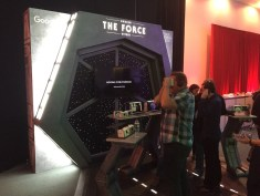 Star Wars The Force Awakens Junket Los Angeles Google Awaken The Force Campaign Cardboard Virtual Reality