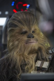 Star Wars The Force Awakens Review Disneyexaminer Chewbacca