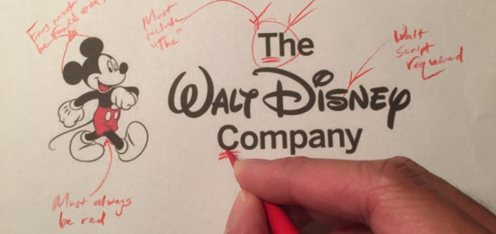 """You must always capitalize the """"T"""" in The Walt Disney"""