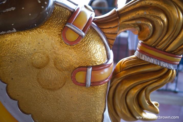 Hidden Mickey at Disneyland Paris.
