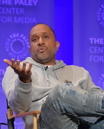 HOLLYWOOD, CA - MARCH 13: Kenya Barris at PaleyFest LA 2016 honoring black-ish, presented by The Paley Center for Media, at the Dolby Theatre on March 13, 2016 in Hollywood, California. © Michael Bulbenko for the Paley Center