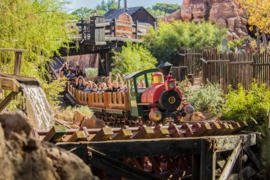 Big Thunder Mountain Railroad at Disneyland - Photo courtesy of Matthew Serrano