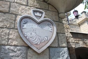 Disneyland Fantasyland Restroom