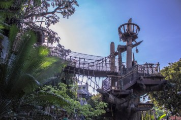 Tarzan's Treehouse in Adventureland at Disneyland - Photo courtesy of Matthew Serrano