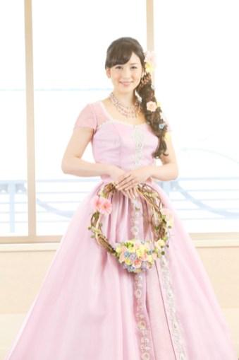 Disney Themed Tangled Wedding Dress