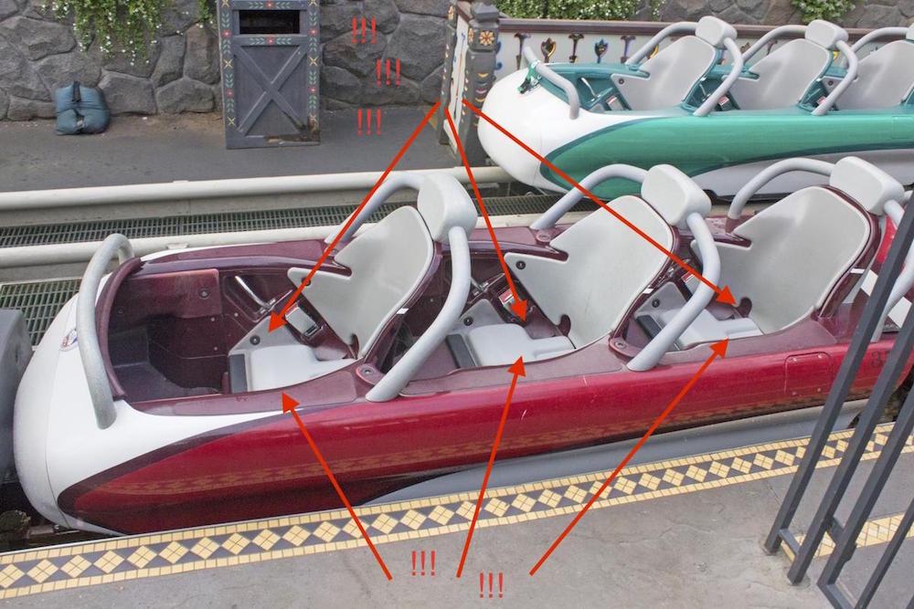 Rejoice The Matterhorn Bobsleds Now Have Butt Cushions Disneyexaminer