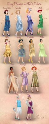 http://basaktinli.deviantart.com/art/Disney-Princesses-in-1920s-Fashion-by-Basak-Tinli-513660699