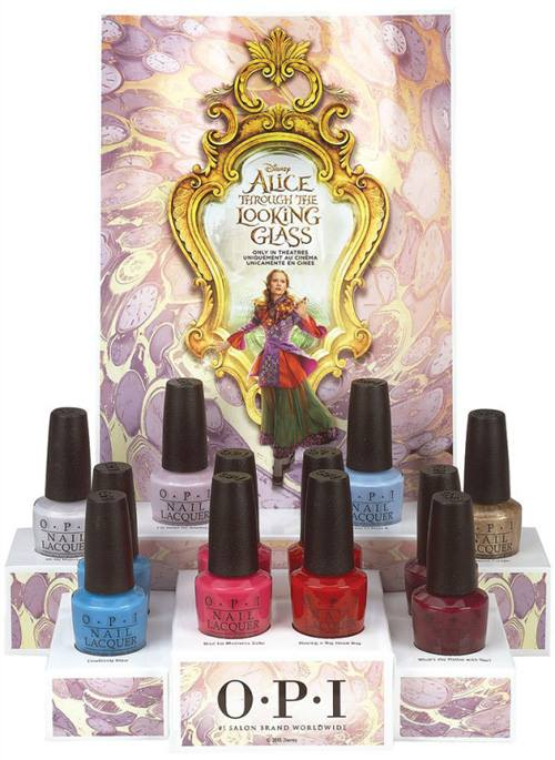 Alice Through the Looking Glass OPI Collection