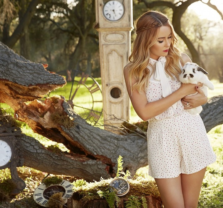 Sleeveless top and shorts set from LC Lauren Conrad
