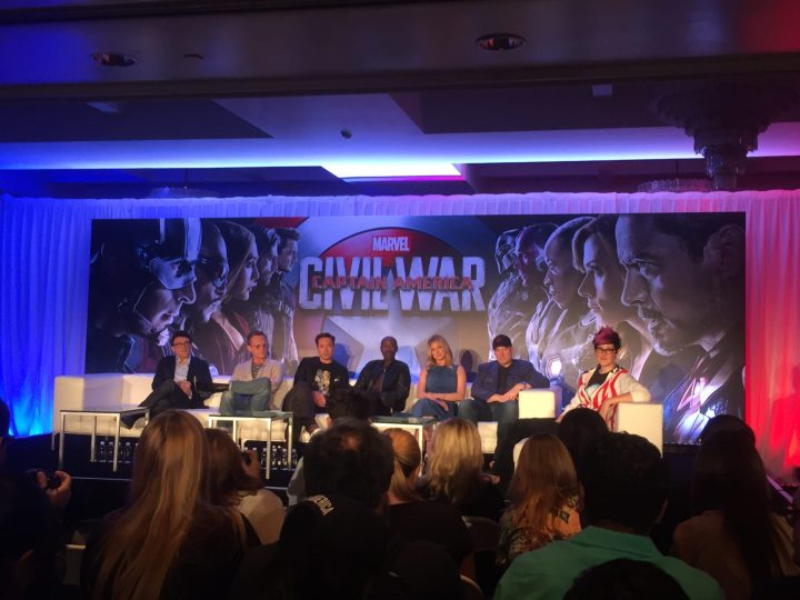 #TeamIronMan at the Global Press Conference