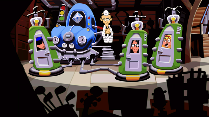 Day Of The Tentacle Video Game Review Disneyexaminer 2