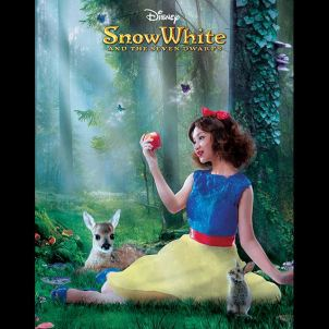 Daiyan Trisha as Snow White (Malaysia) Photo: Disney Channel Asia Facebook