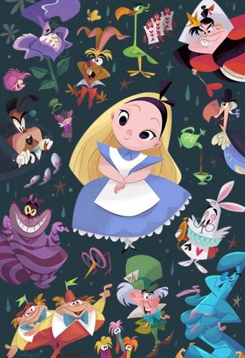 Bill Robinson Alice in Wonderland