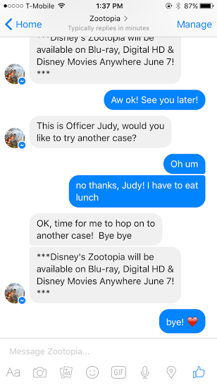 imperson judy hopps chatbot 10