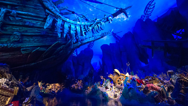 Pirates of the Caribbean Battle for the Sunken Treasure Shanghai Disneyland Disney Resort