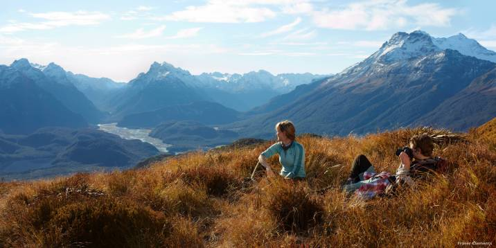Pete's Dragon New Zealand Setting Queenstown Mountains