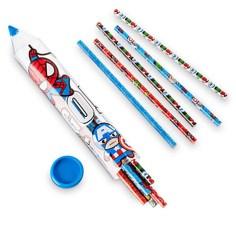 Back to School Supplies Disney Store Products Marvel MXYZ Pencil Set